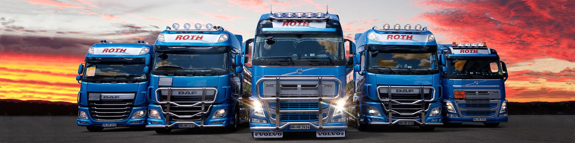 Roth Tanktransporter Frontal Leistungen