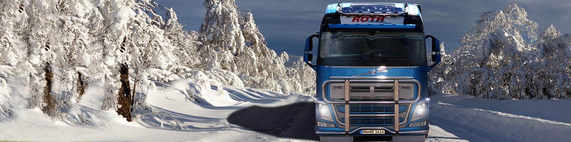 Roth Lastfahrzeug Transport Scnnee