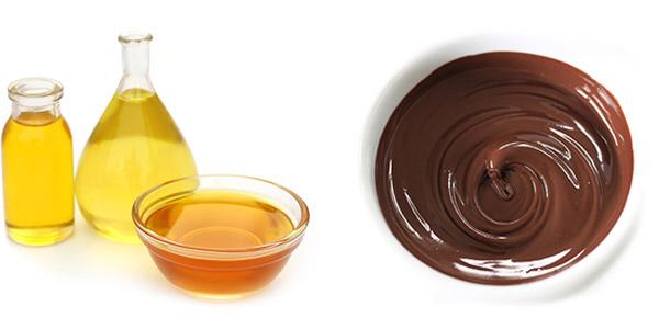Flüssiglebensmittel - Öle und Schokolade